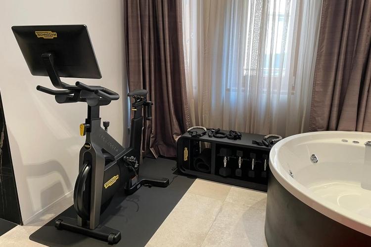 Fitness Junior Suite The Corner Duomo Hotel Milano