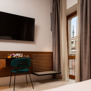 The Corner Duomo Hotel Milano - Business Room with view on the Madonnina